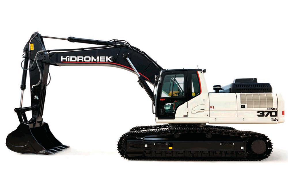 Retroexcavadora de cadenas HMK 370 LC HD